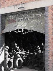 stratford (blopsmen) Tags: london cg industrial decay wheels explore persiana shutter abandonment stratford abandono rodas deterioro ruedasindustrial