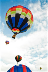 Balloonfest mass lift-off (kspan17) Tags: ohio hotairballoons ashland 2009 balloonfest secondwind freerfield