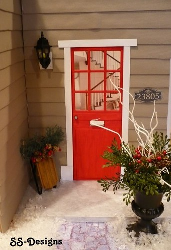 Barbie size Porch Winter