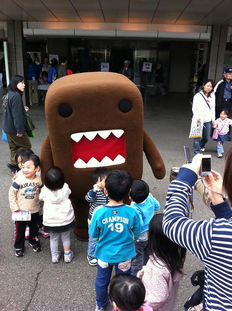渋谷イベント~どーもくん