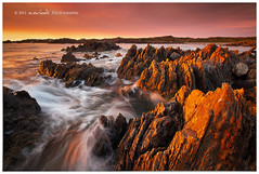 Wlid Tarkine (Dylan Toh) Tags: sunset seascape beach rock river landscape photography coast arthur twilight dusk wave tasmania dee waterscape couta everlook tarkine