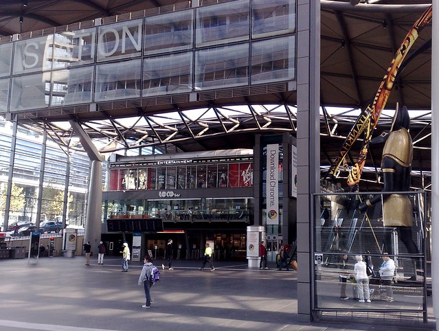 Southern Cross Station main entrance