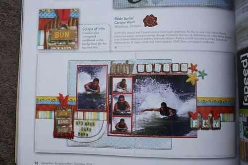 Canadian Scrapbooker Publication
