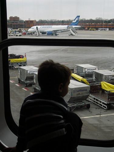 Ormai iniziato al fascino dell'aeroporto