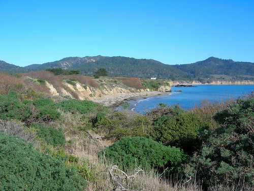 The setting from Ano Nuevo Point