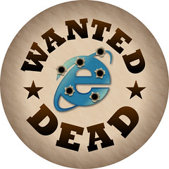 IE6 Wanted Dead