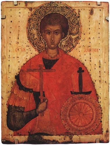 005- San Demetrio de Tesalonica-escuela de Pskov- siblo XV
