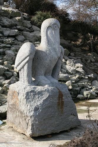 Stone Pelican - Cleethorpes