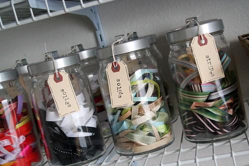 ribbon jars