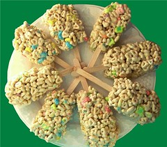 Lucky Charms Treat Bars