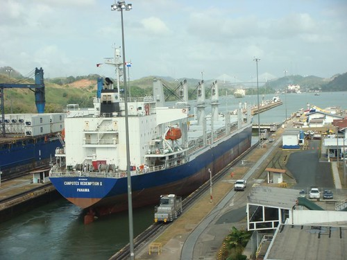 The Panama Canal...