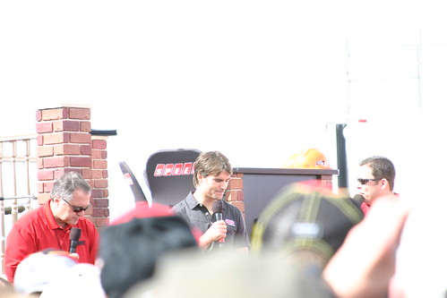 Jeff Gordon told us a funny story about getting a speeding ticket...