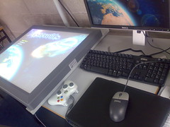 Touchscreen Asteroids