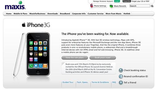 Maxis iPhone