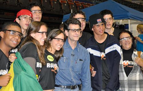 FRC San Diego - Dean Kamen & the Brazilians