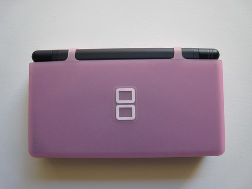 Pink Hori DS Lite Skin - Closed