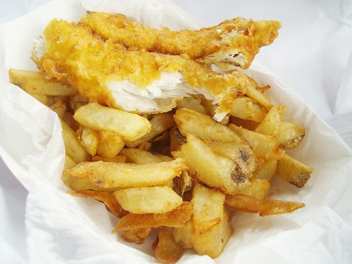 whiting & chips @ a salt and battery