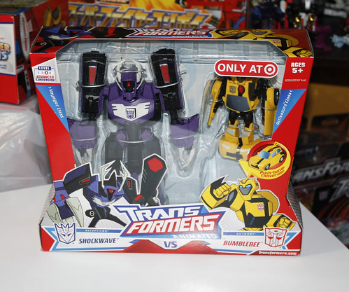 TF Animated Shockwave (Target Exclusive)