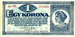 1 Korona, 1920 (Iliazd) Tags: germany notgeld papermoney inflationary germancurrency emergencymoney germanpapermoney