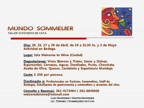 invitacion MUNDO SOMMELIER