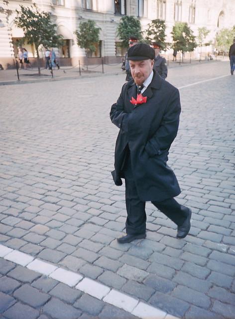 Lenin impersonator