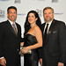 HSUS President/CEO Wayne Pacelle with guests Philip M. Cohen & Steffanie Siebrand