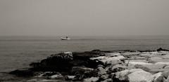La Foce (rossolev) Tags: sea italy barca italia mare abruzzo roccasangiovanni yourcountry