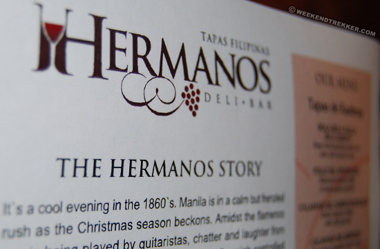 Hermanos Tapas and Deli Bar in Julia Vargas Avenue, Ortigas