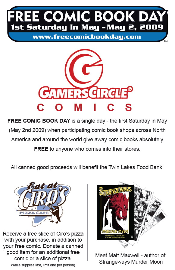 Free Comic Book Day comes to Folsom, Ca