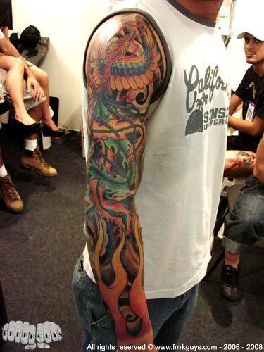 fechamento tattoo fenix