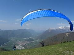 CIMG2580 Kopie (philflieger) Tags: start wolke cumulus slowenien tolmin gleitschirm startplatz svn fluggebiet kobala