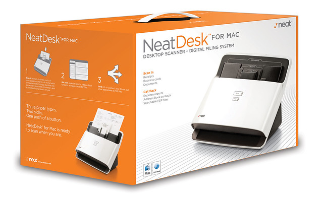 NeatDesk for Mac Box