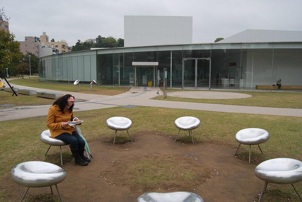 Vero en el Museo de Arte Contemporáneo del S.XXI