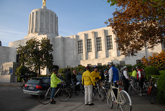 Legislator bike ride at the Oregon Bike Summit-9