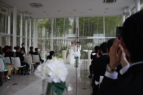 トム結婚式