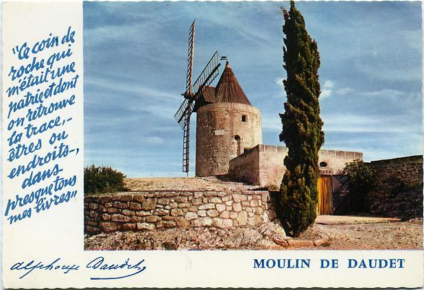 588 LE MOULIN DE DAUDET