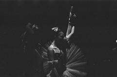 stretch (tamara noland) Tags: blackandwhite bw ballet film dancers analogue backstage fujineopan1600 balletdancers danceperformance thenutcracker balletdancer mamiyasekor1000dtl