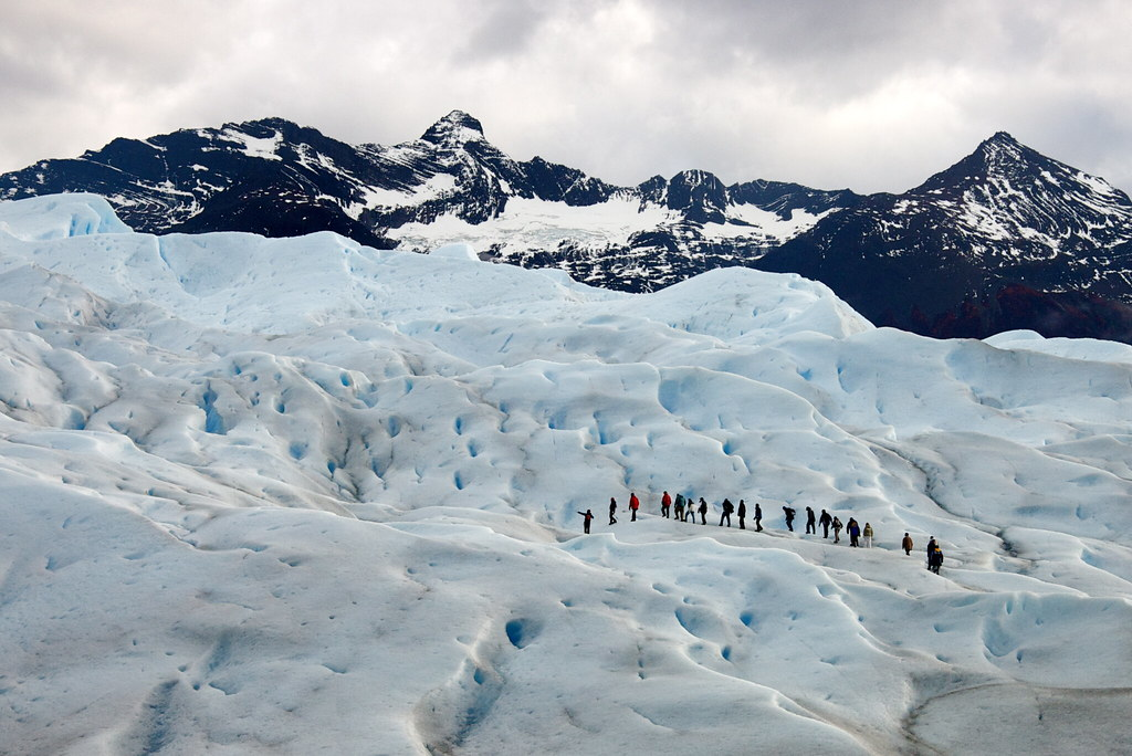 trekking on the glacier - 2