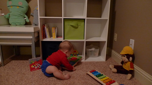 Jack in his playroom