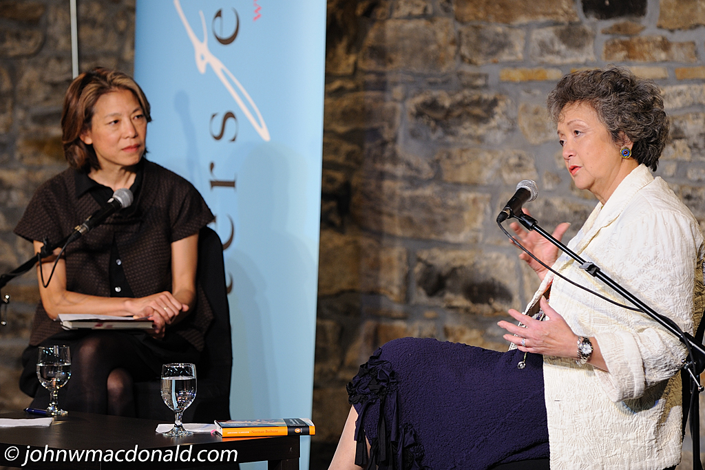 Adrienne Clarkson with Denise Chong