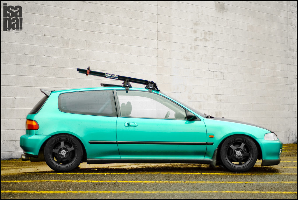 Yakima Roof Rack Honda Civic Coupe Yakima Q Tower Roof