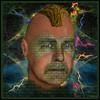 """The Mask of Hypomimia"" (outragousart2008) Tags: selfportrait art digital mask digitalart surreal textures fantasy computerart fractals imagemanipulation digitalportrait psychodellic incendia outragousart"