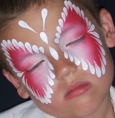 Face Painting Butterfly por tammybeeks