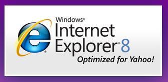 Internet Explorer 8 Optimized for Yahoo!