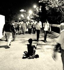 Ammaaaa.......... (jithu :Q) Tags: india bus station mba crowd bangalore business seeking alms kempegowda