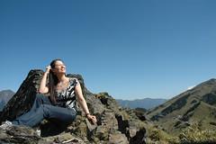 DSC_1456 (Ming - chun ( very busy )) Tags: sky green girl landscape nikon women d70 taiwan   grassland                 14