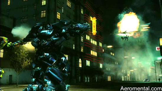 juego Transformers 2 Ironhide Blackout