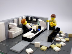 Office Space (Legozilla) Tags: lego vignette officespace lumbergh moc
