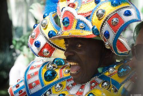 Bahamas Samurai Portrait