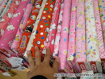 Hello Kitty cloth